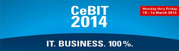 CeBIT 2014 - IT. Business. 100%
