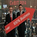 CeBIT 2013 - 100% Business
