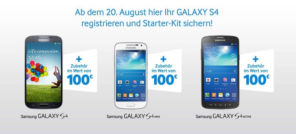 Samsung - Starter-Kit - Samsung Galaxy S4 Mini Active