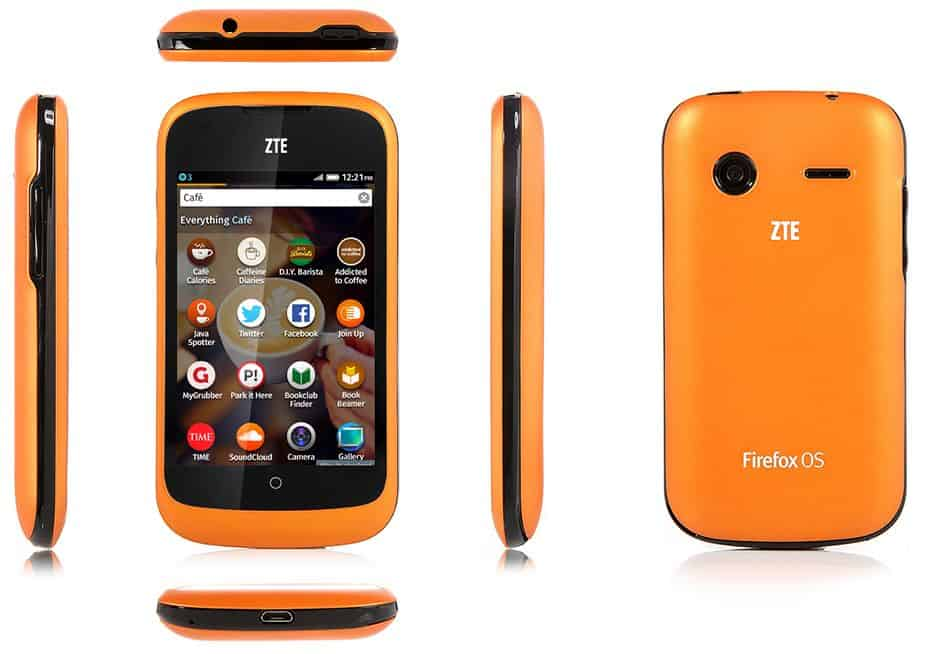 ZTE Open - Firefox Phone 3G