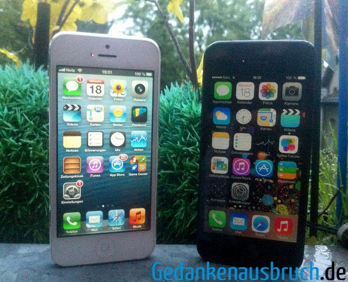 iPhone 5 - iOS 6 und iOS 7 Beta - Developer