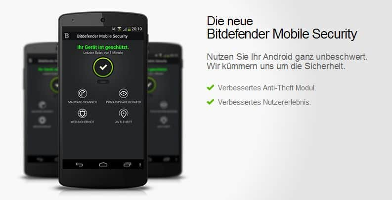 Bitdefender - Deutschland - Facebook - Mobile Security