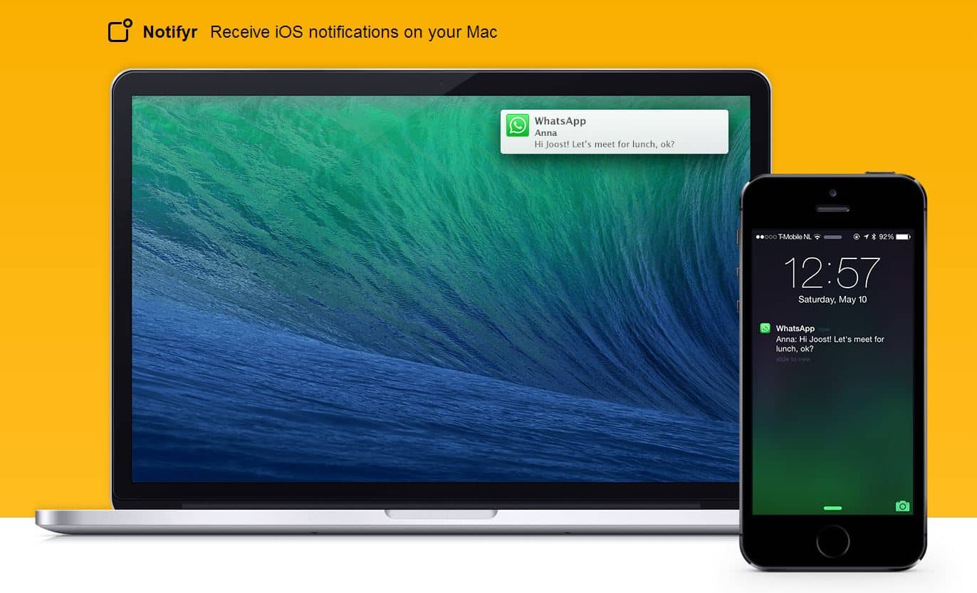 Notifyr - Receive iOS Notification on your Mac
