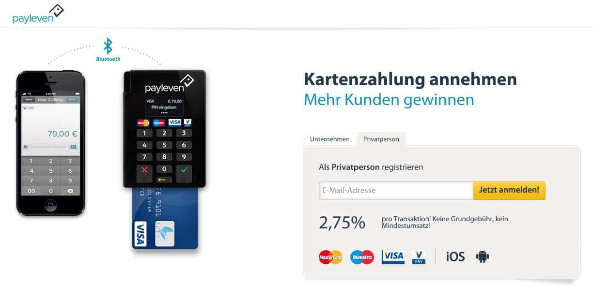 payleven - Homepage