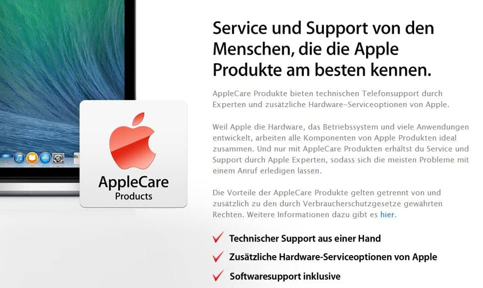 AppleCare - Support