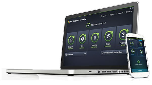 AVG Internet Security 2015 - Laptop, Handy