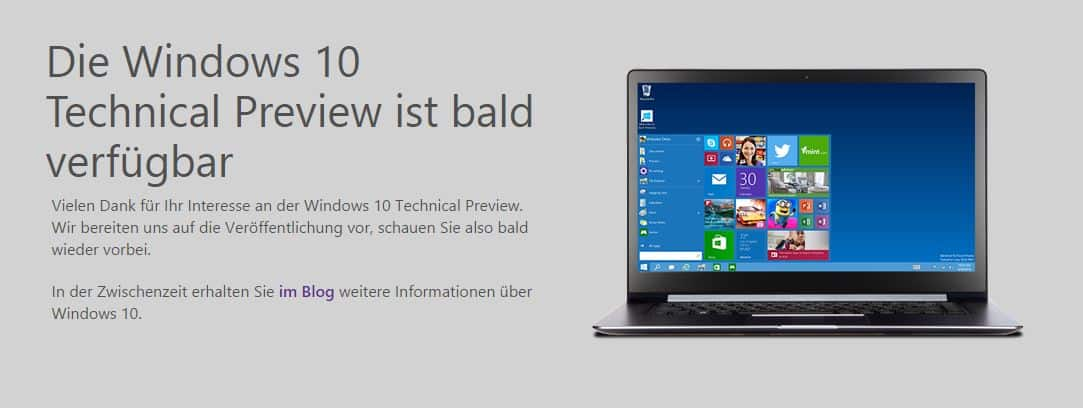 Windows 10 - Technical Preview