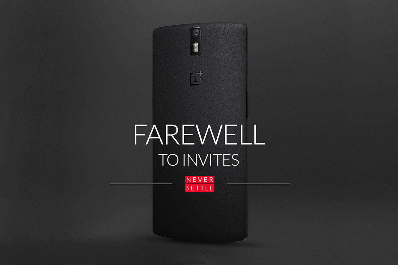 oneplus one farewell to invites