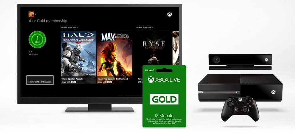 Xbox Live Join - Werde Xbox Live Gold-Mitglied