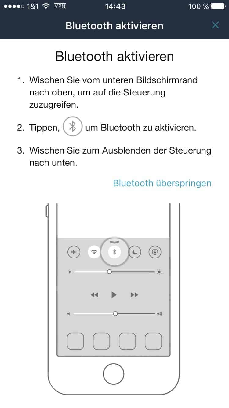 amazon ios app dash button bluetooth aktivieren