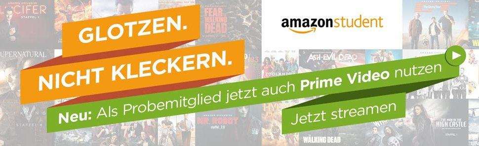 Amazon Student - Amazon Instant Video - Prime Video kostenlos