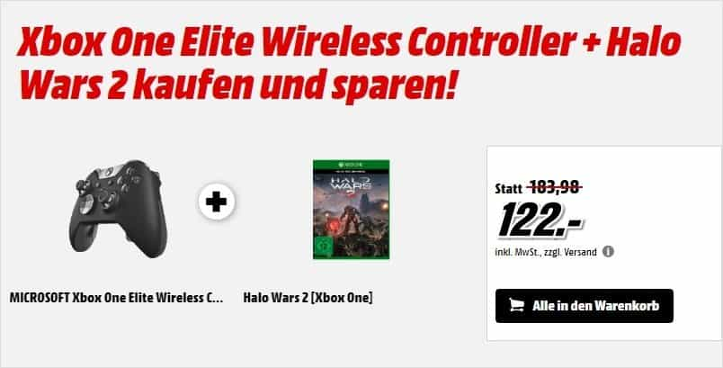 Media Markt - Xbox One Elite-Controller - Halo Wars 2