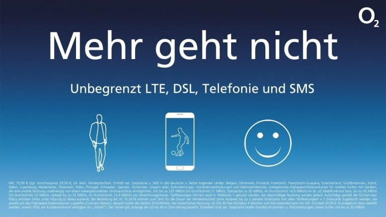 o2 Telefonica - o2 Mehr geht nicht - o2 Free Unlimited - o2 my All in One