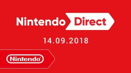 Nintendo Direct - Live-Stream - 14. September 2018