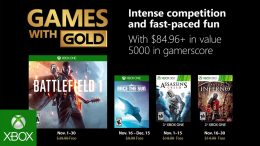 Microsoft - Xbox - Games with Gold - November 2018