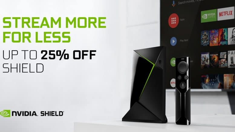 Nvidia Shield TV - Black Friday 2018-Aktion