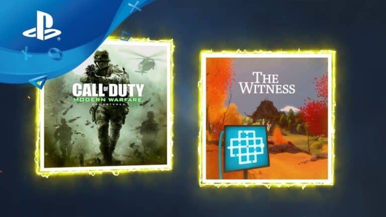 Sony - PlayStation Plus - Spiele - Call of Duty: Modern Warfare - The Witness - Mäez 2019