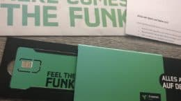 freenet FUNK - here comes the funk - Brief - SIM-Karte