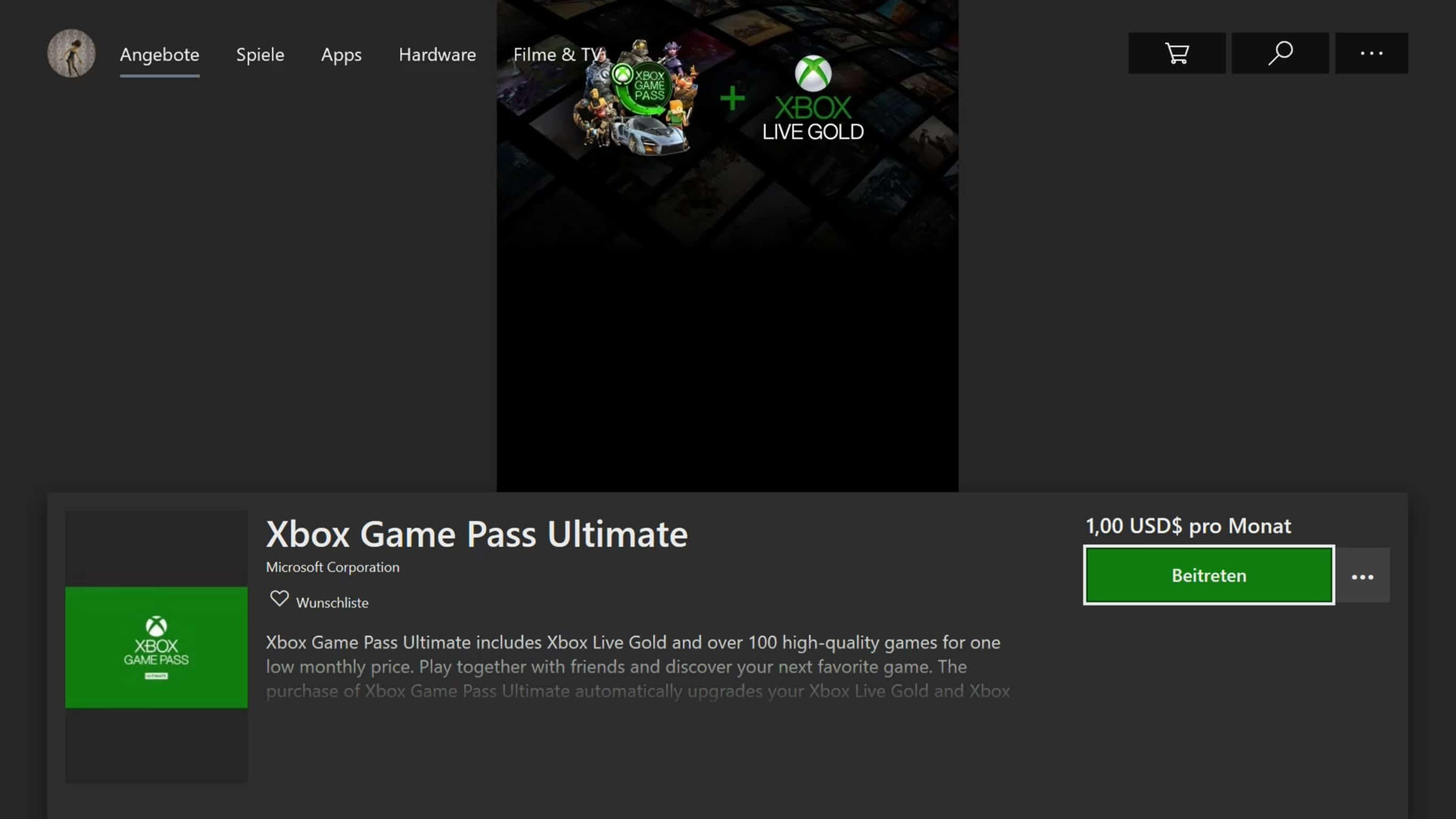 Microsoft - Xbox One X - Microsoft Store - Xbox Game Pass Ultimate