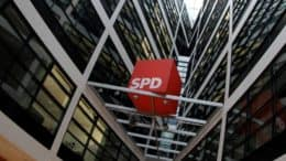 SPD-Logo - Willy-Brandt-Haus - Berlin