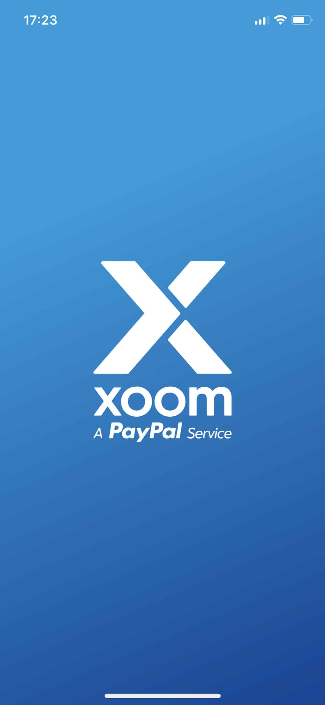 Xoom - PayPal-Service - iPhone-App -