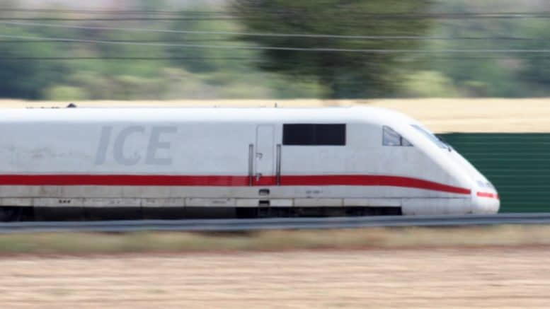 Deutsche Bahn - ICE - Intercity Express - Gleis - DB