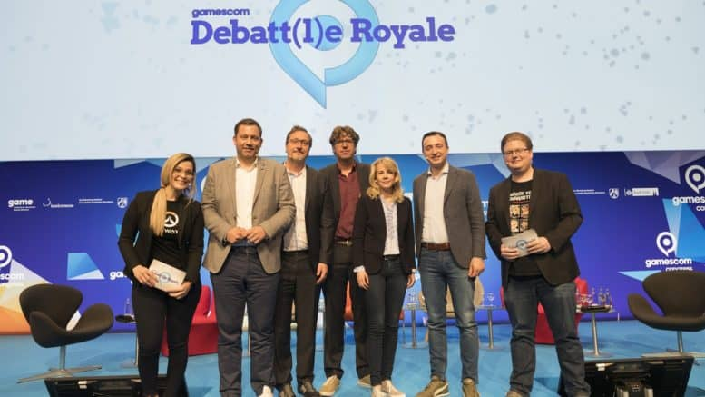 gamescom congress - koelnmesse - debattle royale