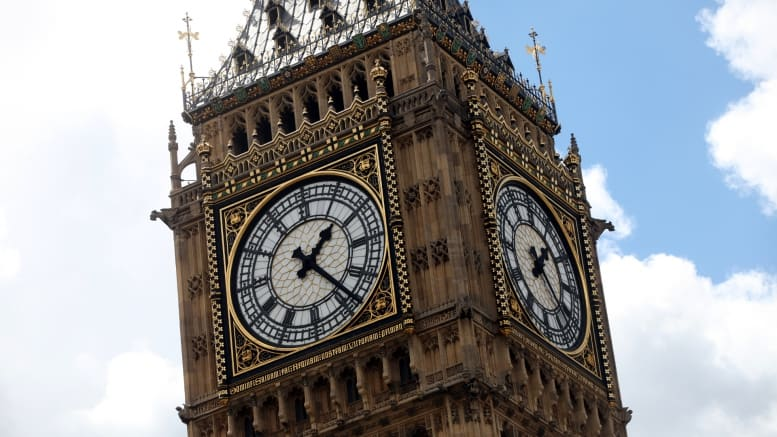 Big Ben - Turm - Uhr - Palace of Westminster - London - England - Großbritannien