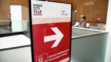 World Conference Center - Corona-Impfzentrum - Februar 2021 - Bonn
