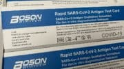Boson Biotech - Rapid SARS-CoV-2 Antigen Test Card - In-Vitro-Diagnostikum - Corona-Schnelltest - Februar 2021